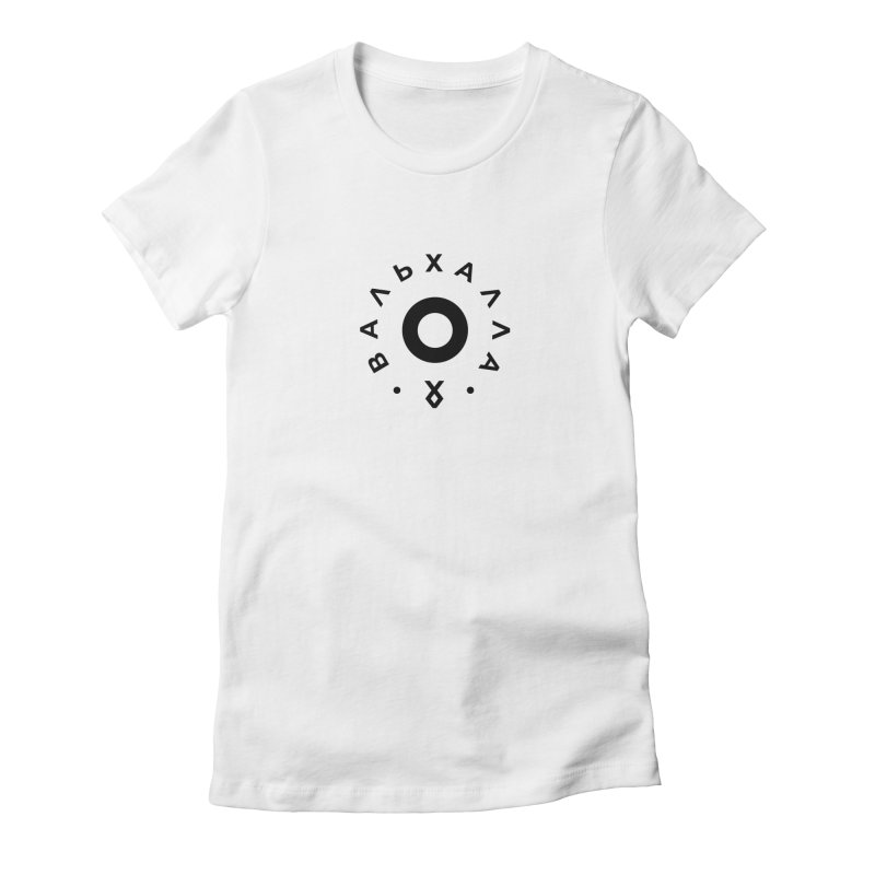 Valhalla Women's Fitted T-Shirt by СУПЕР* / SUPER*