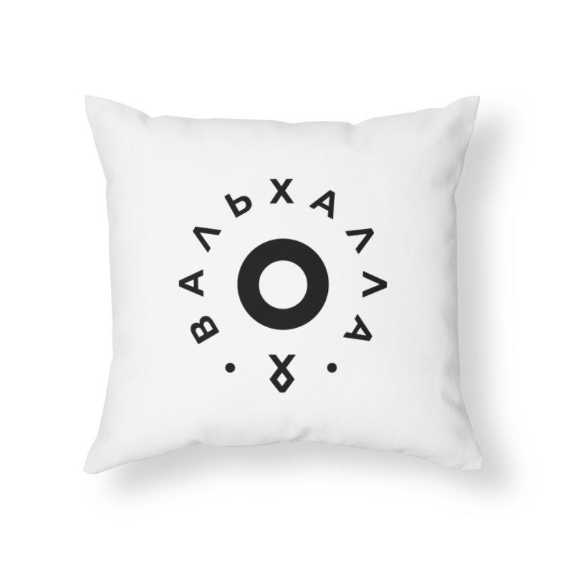 Valhalla Home Throw Pillow by СУПЕР* / SUPER*