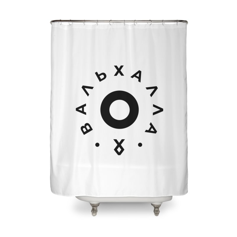 Valhalla Home Shower Curtain by ゴロキ | GORODKEY | GRDK Clothing