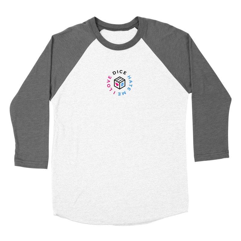 I Love Dice But Dice Hate Me Women's Baseball Triblend Longsleeve T-Shirt by ゴロキ | GORODKEY | GRDK Clothing