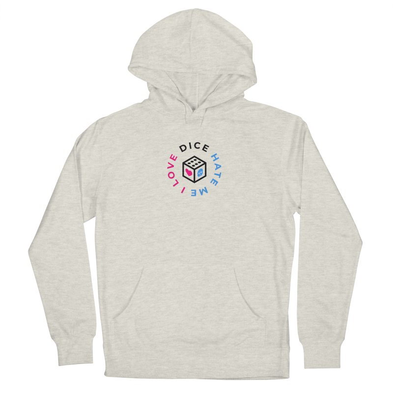 I Love Dice But Dice Hate Me Men's French Terry Pullover Hoody by ゴロキ | GORODKEY | GRDK Clothing