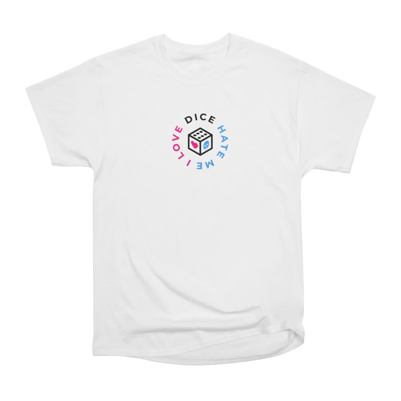 I Love Dice But Dice Hate Me Men's Heavyweight T-Shirt by ゴロキ | GORODKEY | GRDK Clothing