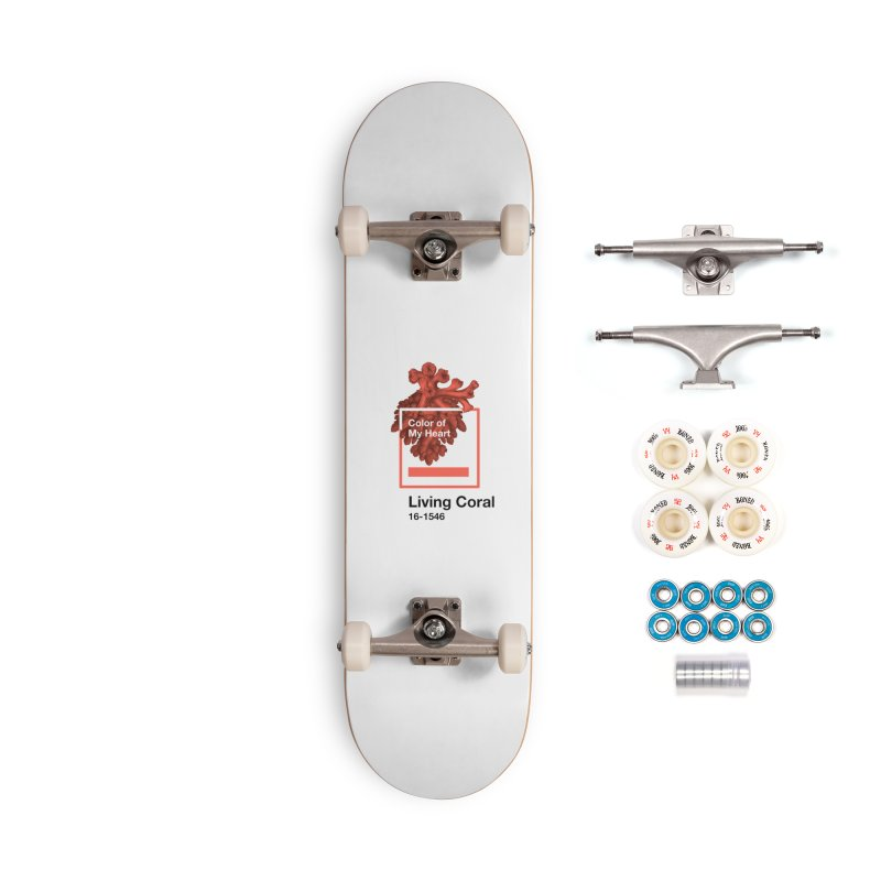 Coral Of My Heart Accessories Complete - Premium Skateboard by ゴロキ | GORODKEY | GRDK Clothing