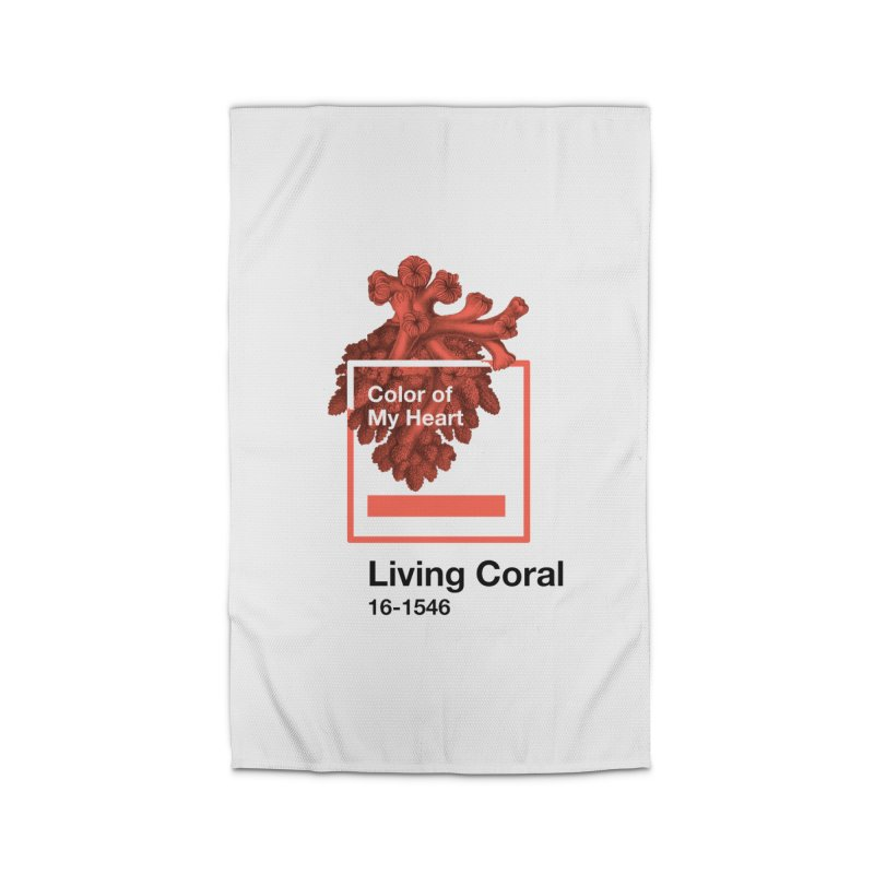 Coral Of My Heart Home Rug by ゴロキ | GORODKEY | GRDK Clothing