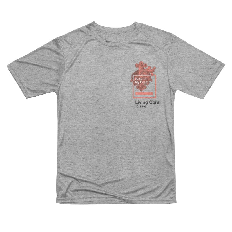 Coral Of My Heart Men's Performance T-Shirt by ゴロキ | GORODKEY | GRDK Clothing