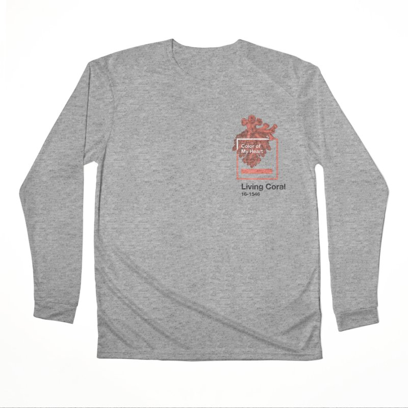 Coral Of My Heart Men's Performance Longsleeve T-Shirt by ゴロキ | GORODKEY | GRDK Clothing