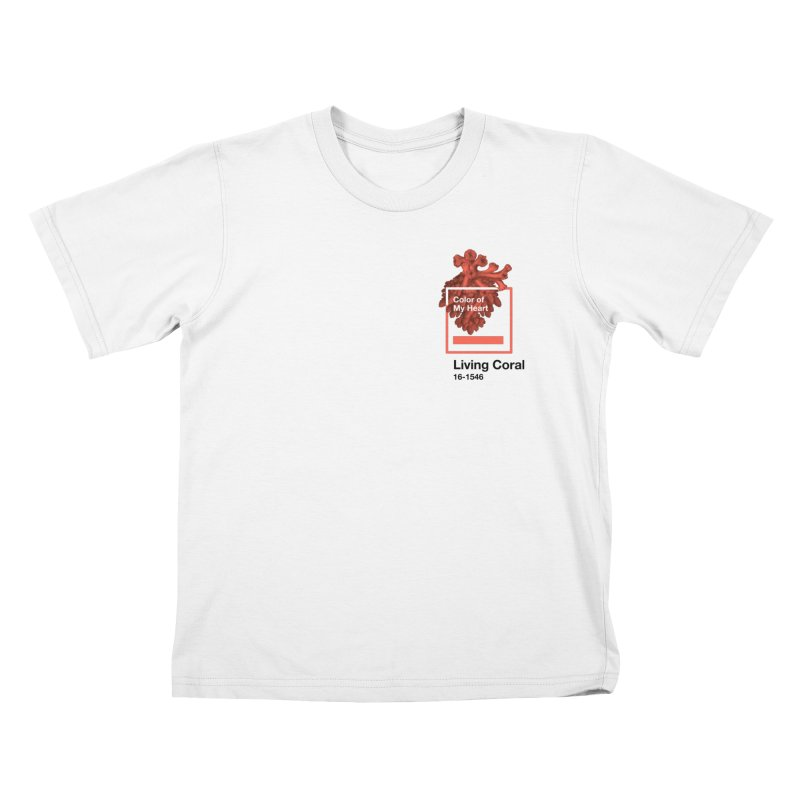 Coral Of My Heart Kids T-Shirt by ゴロキ | GORODKEY | GRDK Clothing