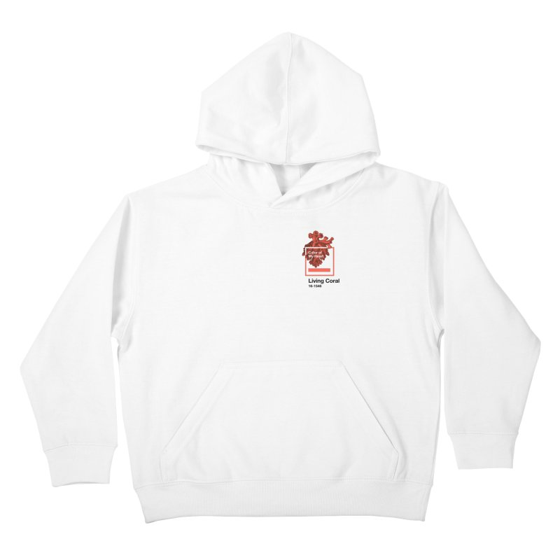 Coral Of My Heart Kids Pullover Hoody by ゴロキ | GORODKEY | GRDK Clothing
