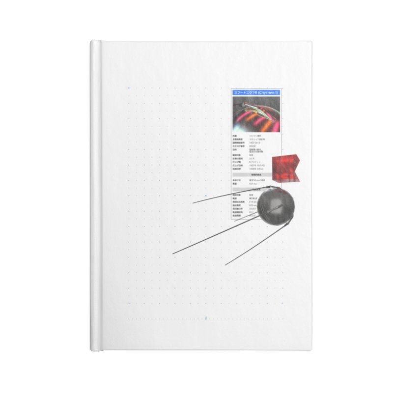 grd-s1 Accessories Blank Journal Notebook by ゴロキ | GORODKEY | GRDK Clothing