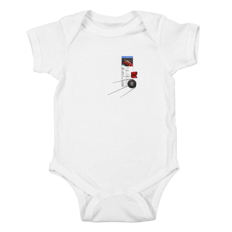 grd-s1 Kids Baby Bodysuit by ゴロキ | GORODKEY | GRDK Clothing