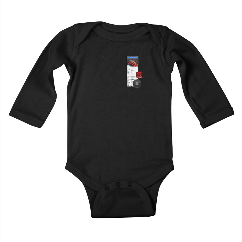 grd-s1 Kids Baby Longsleeve Bodysuit by ゴロキ | GORODKEY | GRDK Clothing