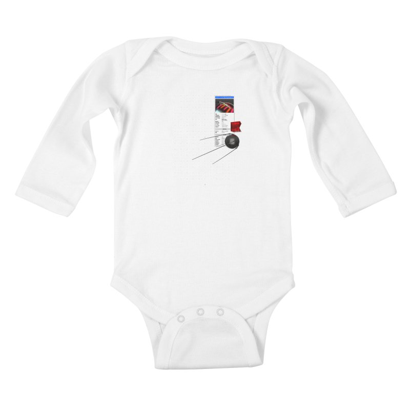 grd-s1 Kids Baby Longsleeve Bodysuit by ゴロキ | GORODKEY | GRDK Clothing