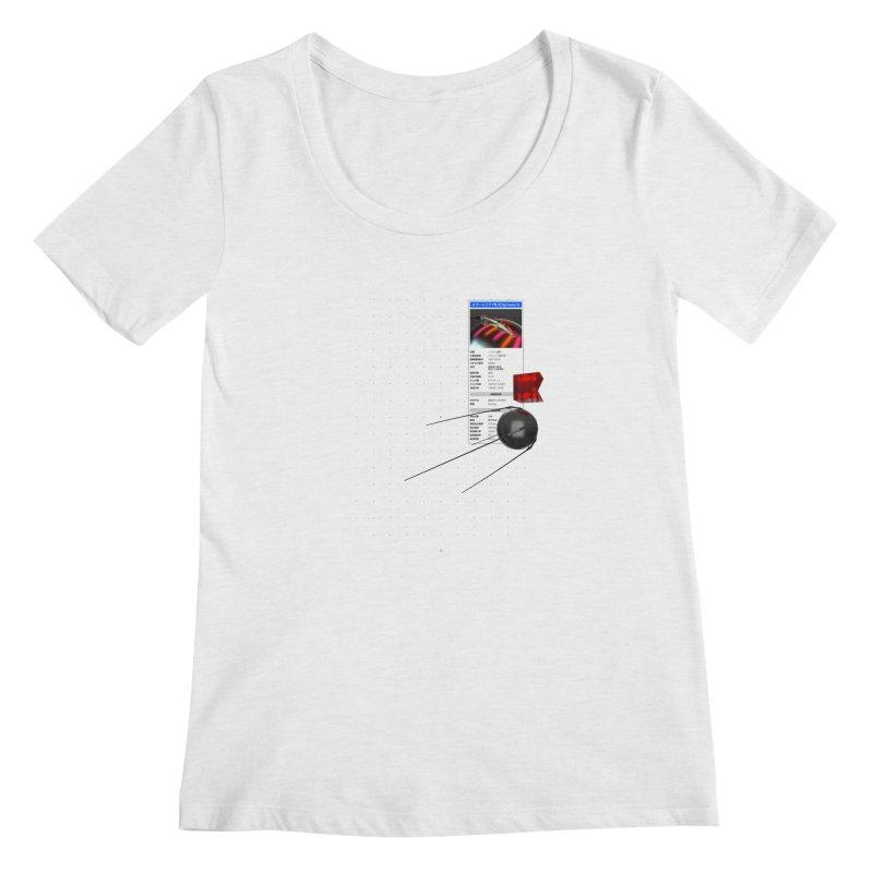 grd-s1 Women's Regular Scoop Neck by ゴロキ | GORODKEY | GRDK Clothing