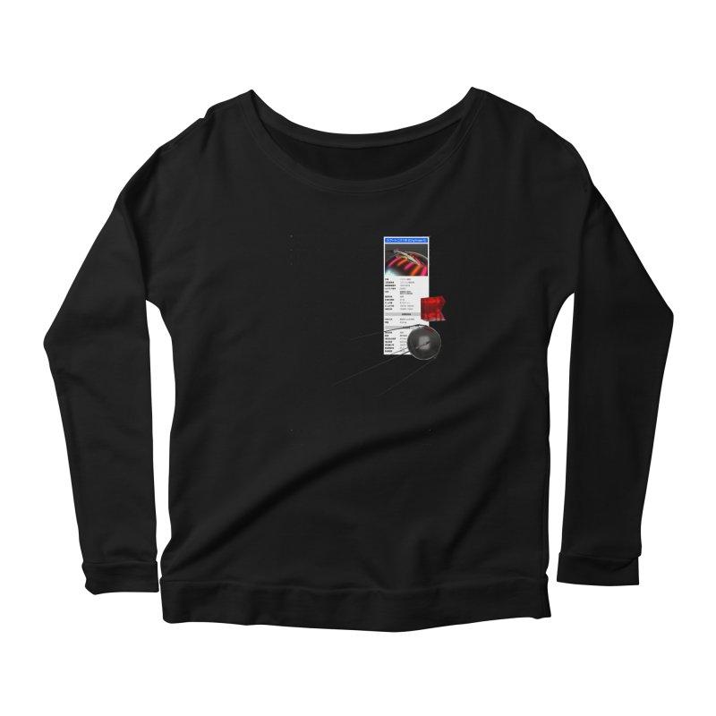 grd-s1 Women's Scoop Neck Longsleeve T-Shirt by ゴロキ   GORODKEY   GRDK Clothing