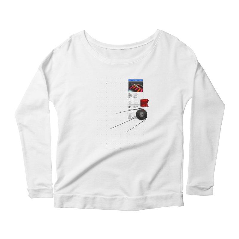 grd-s1 Women's Scoop Neck Longsleeve T-Shirt by СУПЕР* / SUPER*