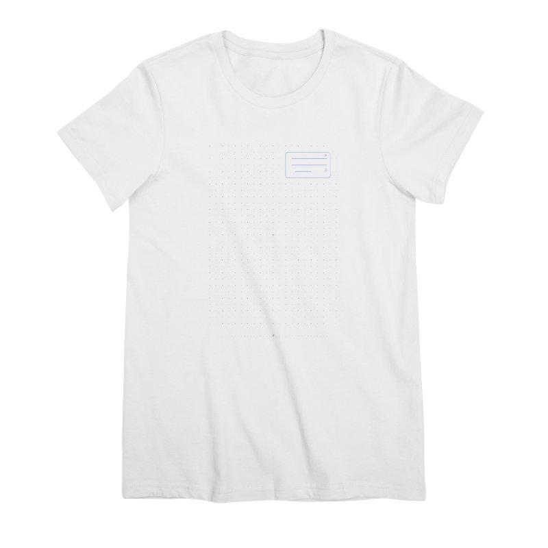 grd-k Women's Premium T-Shirt by ゴロキ | GORODKEY | GRDK Clothing