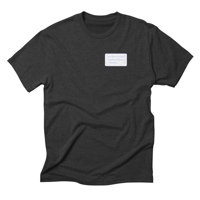 grd-k Men's Triblend T-Shirt by ゴロキ   GORODKEY   GRDK Clothing