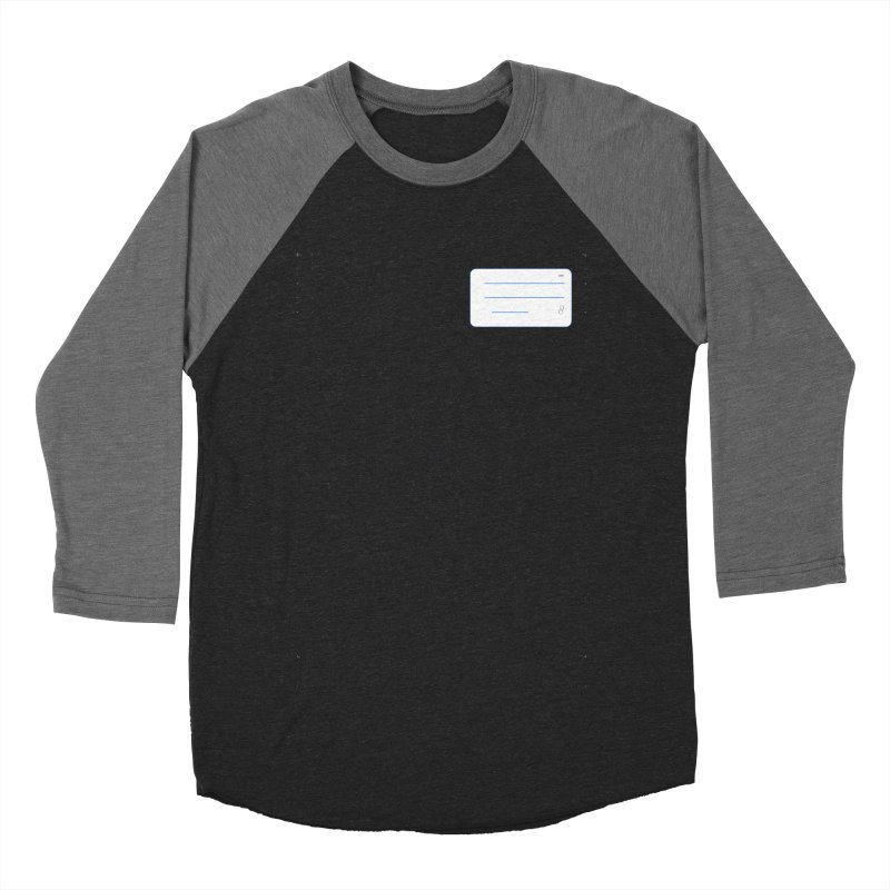 grd-k Men's Baseball Triblend Longsleeve T-Shirt by ゴロキ | GORODKEY | GRDK Clothing