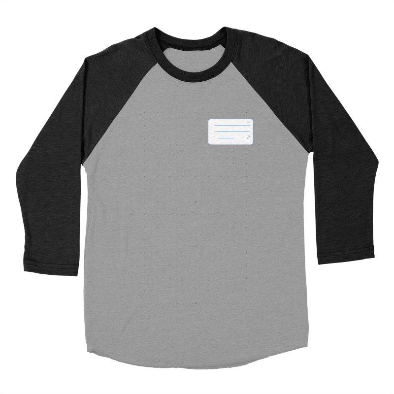 grd-k Men's Baseball Triblend Longsleeve T-Shirt by ゴロキ | GORODKEY | GRDK Clothing