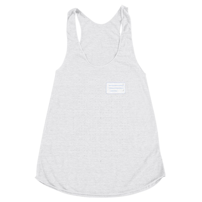 grd-k Women's Racerback Triblend Tank by ゴロキ | GORODKEY | GRDK Clothing