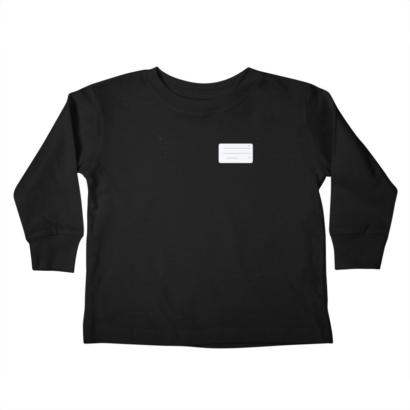 grd-k Kids Toddler Longsleeve T-Shirt by ゴロキ | GORODKEY | GRDK Clothing