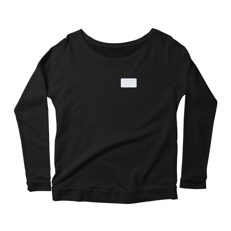 grd-k Women's Scoop Neck Longsleeve T-Shirt by ゴロキ | GORODKEY | GRDK Clothing