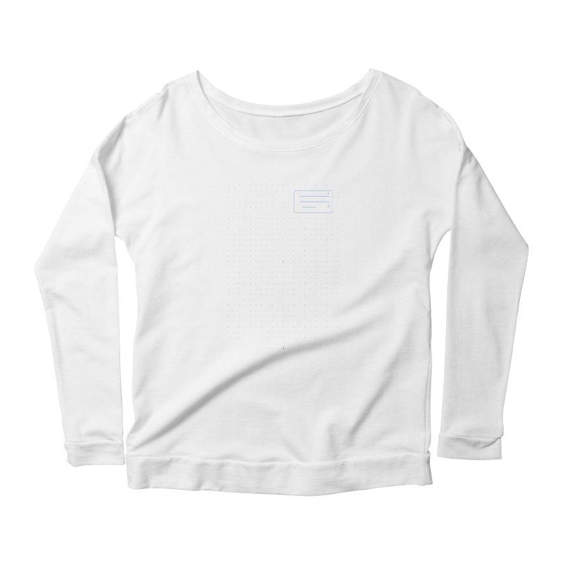 grd-k Women's Scoop Neck Longsleeve T-Shirt by СУПЕР* / SUPER*