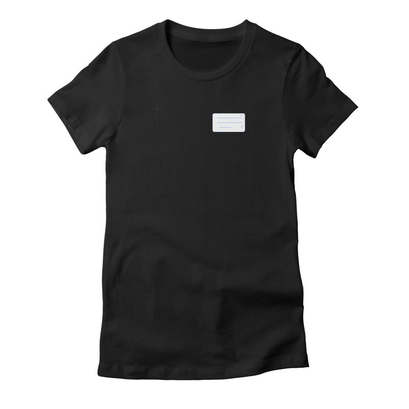 grd-k Women's Fitted T-Shirt by ゴロキ   GORODKEY   GRDK Clothing