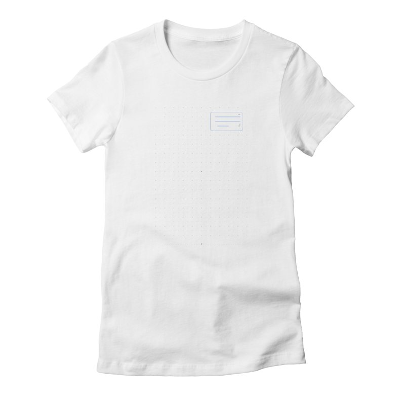 grd-k Women's Fitted T-Shirt by ゴロキ | GORODKEY | GRDK Clothing