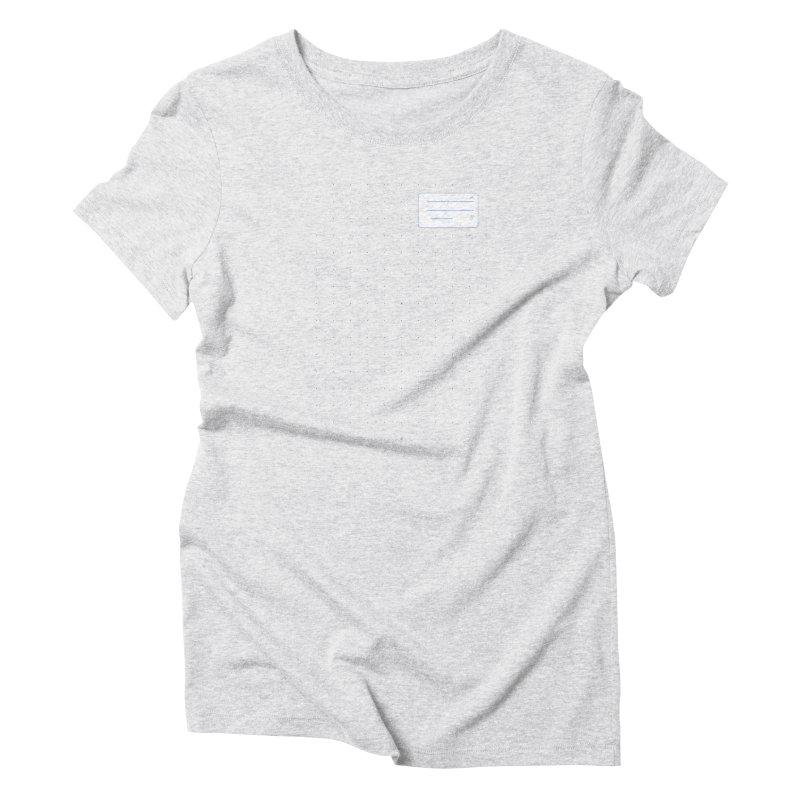 grd-k Women's Triblend T-Shirt by ゴロキ | GORODKEY | GRDK Clothing
