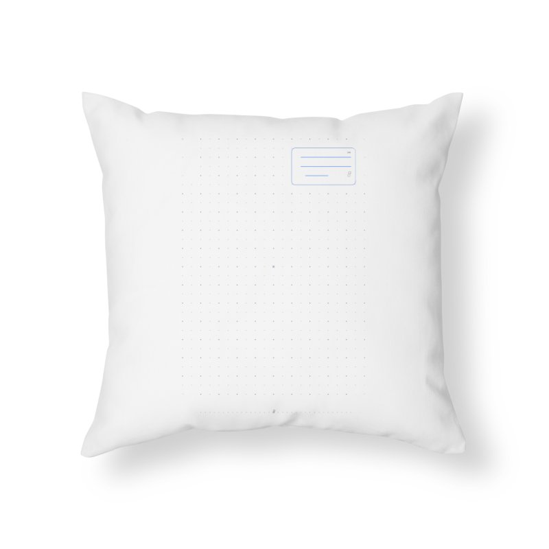 grd-k Home Throw Pillow by ゴロキ | GORODKEY | GRDK Clothing