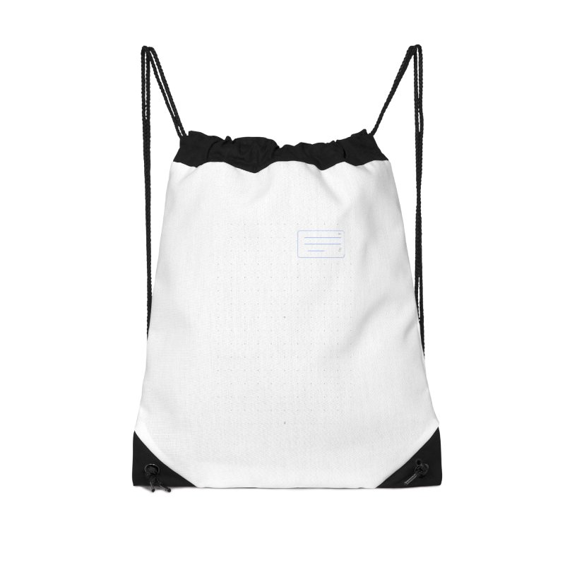 grd-k Accessories Drawstring Bag Bag by ゴロキ | GORODKEY | GRDK Clothing