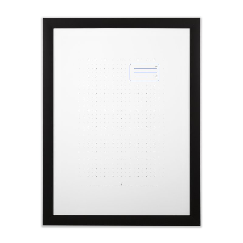 grd-k Home Framed Fine Art Print by СУПЕР* / SUPER*