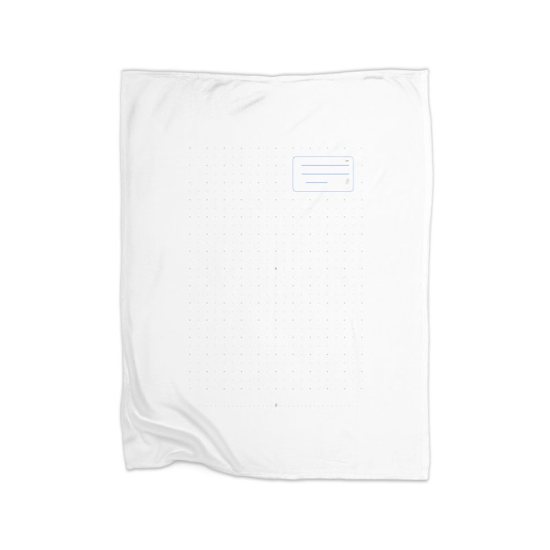 grd-k Home Fleece Blanket Blanket by ゴロキ | GORODKEY | GRDK Clothing