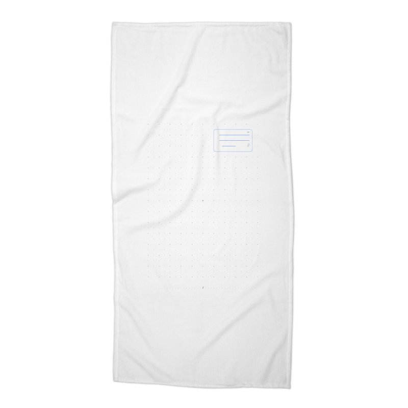 grd-k Accessories Beach Towel by ゴロキ | GORODKEY | GRDK Clothing