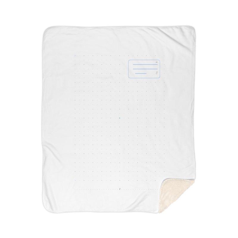 grd-k Home Sherpa Blanket Blanket by ゴロキ   GORODKEY   GRDK Clothing