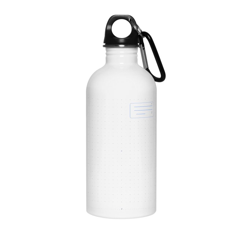 grd-k Accessories Water Bottle by ゴロキ | GORODKEY | GRDK Clothing