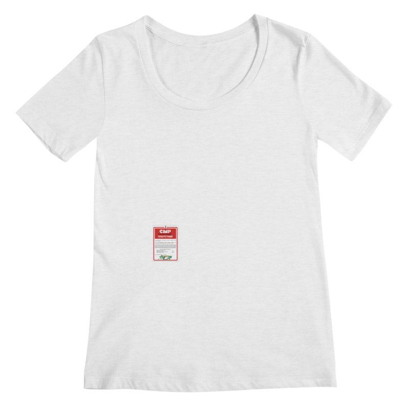 cheese Women's Regular Scoop Neck by ゴロキ | GORODKEY | GRDK Clothing