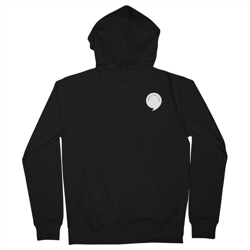 coffee Men's French Terry Zip-Up Hoody by СУПЕР* / SUPER*