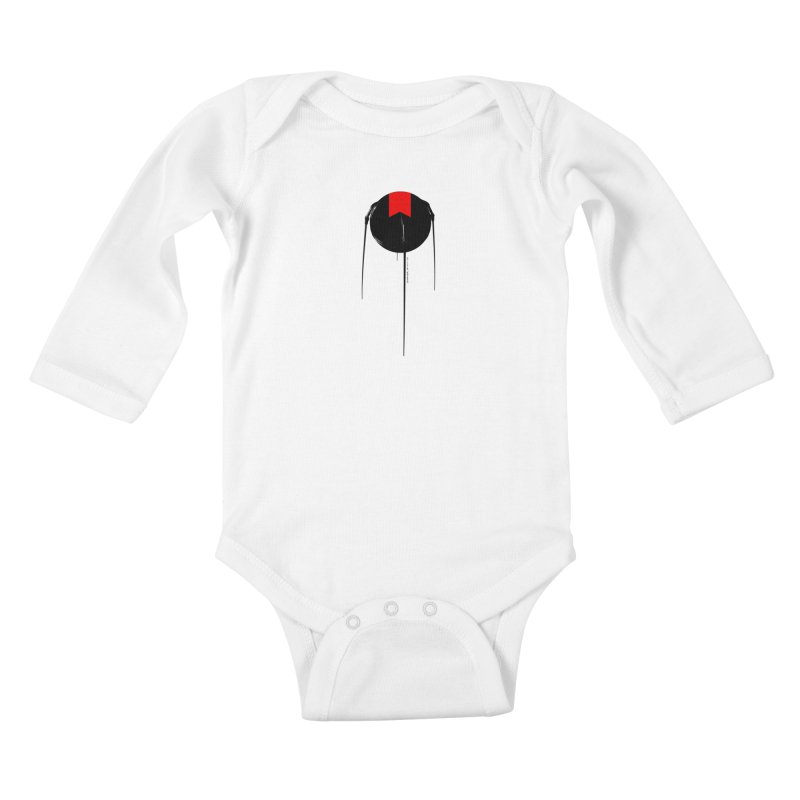 grdk sputnik Kids Baby Longsleeve Bodysuit by ゴロキ | GORODKEY | GRDK Clothing
