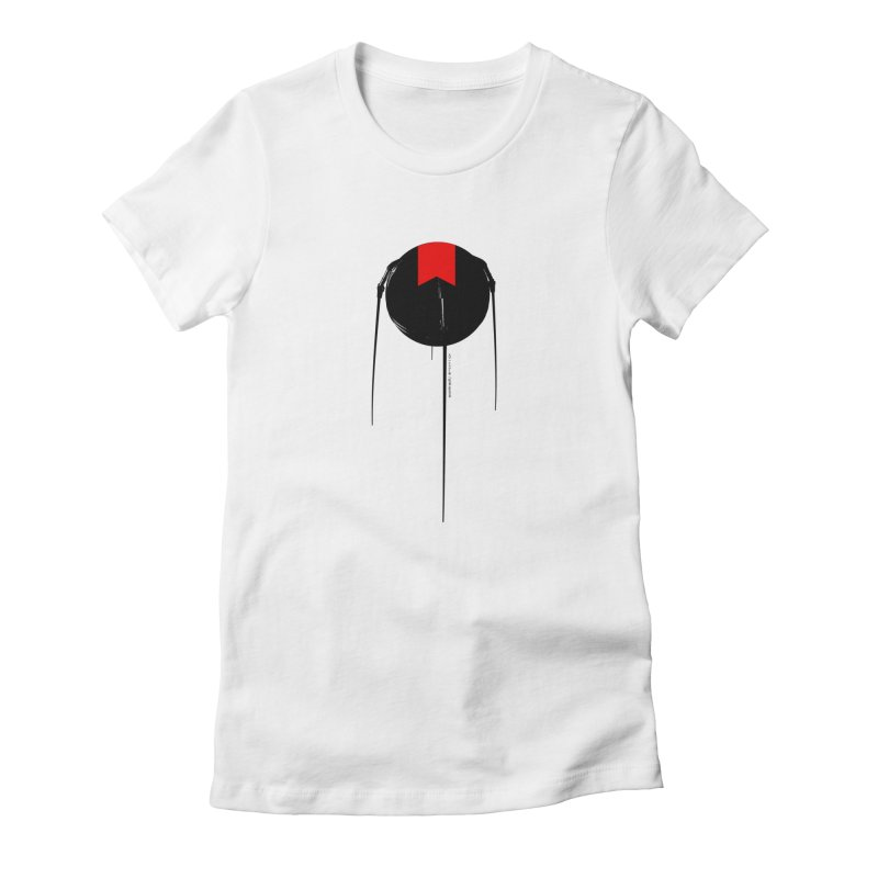 grdk sputnik Women's Fitted T-Shirt by ゴロキ | GORODKEY | GRDK Clothing