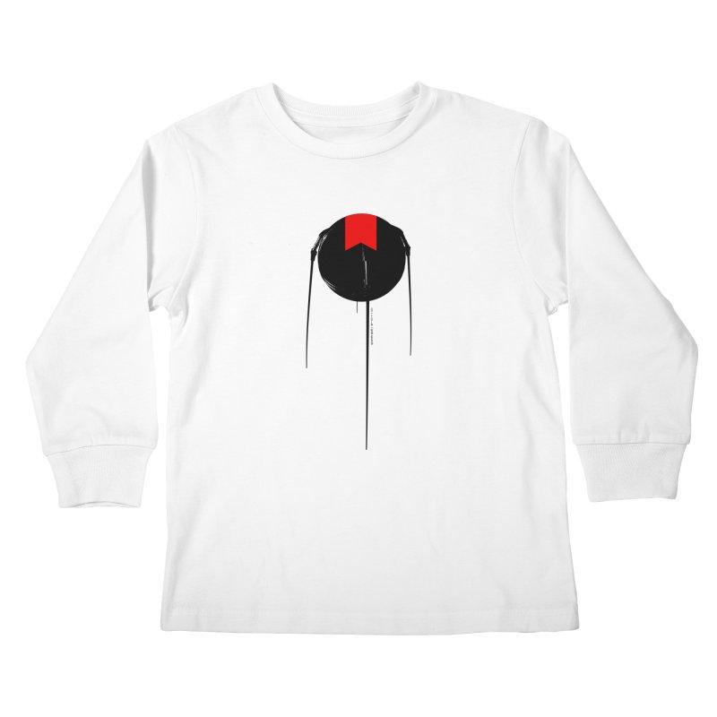 grdk sputnik Kids Longsleeve T-Shirt by ゴロキ | GORODKEY | GRDK Clothing