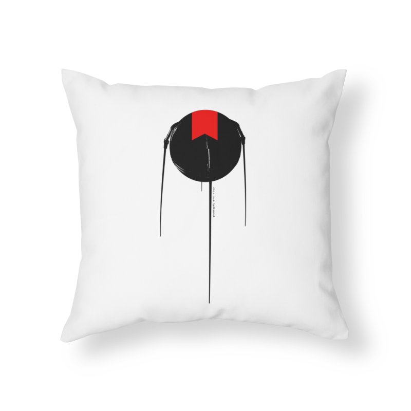 grdk sputnik Home Throw Pillow by ゴロキ | GORODKEY | GRDK Clothing
