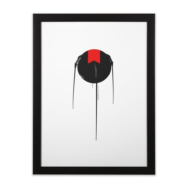 grdk sputnik Home Framed Fine Art Print by ゴロキ | GORODKEY | GRDK Clothing