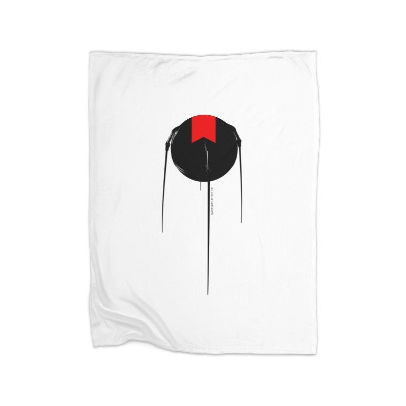 grdk sputnik Home Fleece Blanket Blanket by ゴロキ | GORODKEY | GRDK Clothing