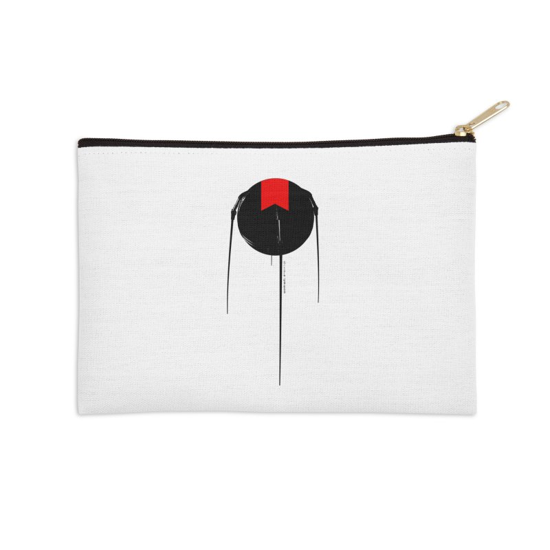 grdk sputnik Accessories Zip Pouch by ゴロキ | GORODKEY | GRDK Clothing