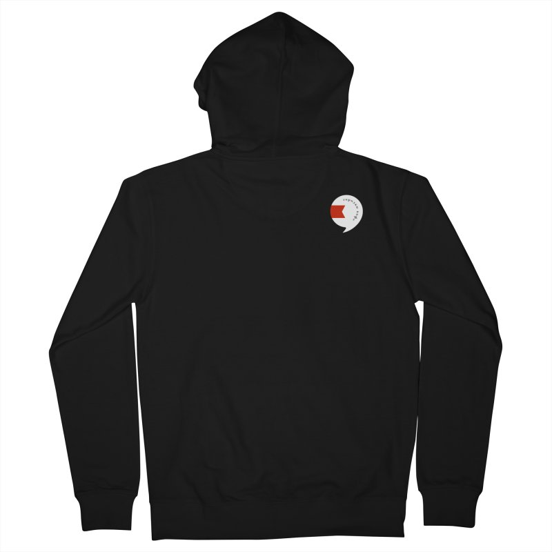 grdk coffee Men's French Terry Zip-Up Hoody by СУПЕР* / SUPER*