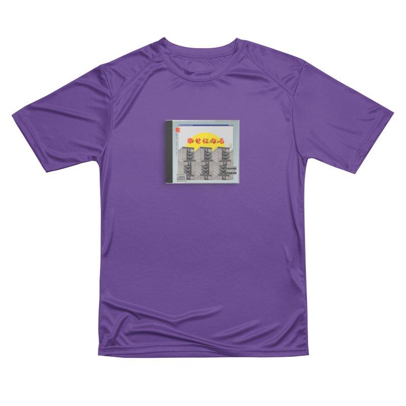 NPC – be happy Men's Performance T-Shirt by ゴロキ | GORODKEY | GRDK Clothing