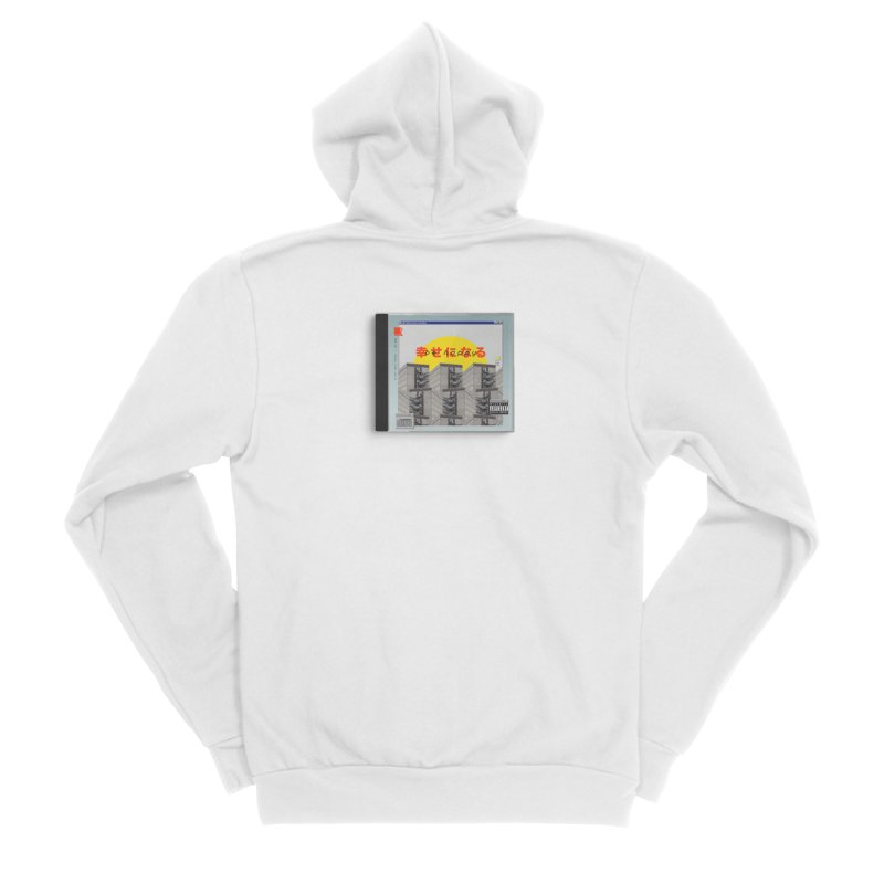 NPC – be happy Men's Sponge Fleece Zip-Up Hoody by ゴロキ | GORODKEY | GRDK Clothing
