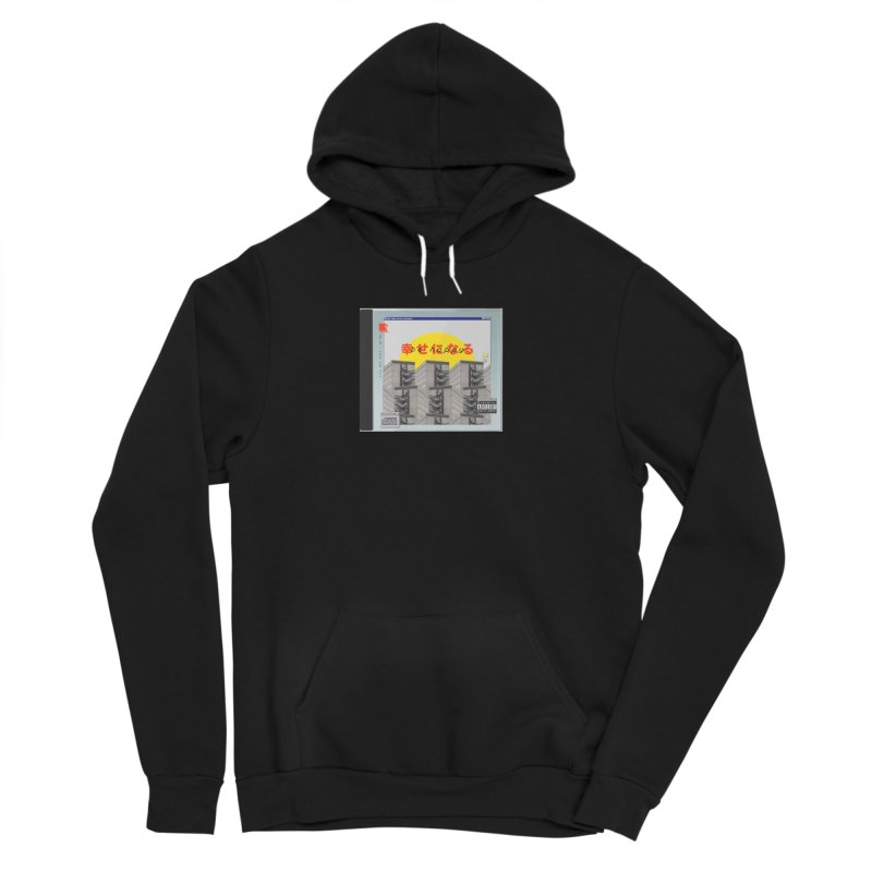 NPC – be happy Men's Sponge Fleece Pullover Hoody by ゴロキ | GORODKEY | GRDK Clothing